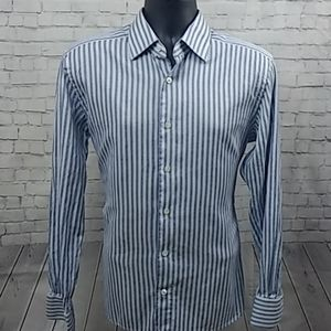 Ermenegildo Zenga Couture button down 42R/16.5